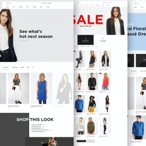 Mint Fashion Web Design